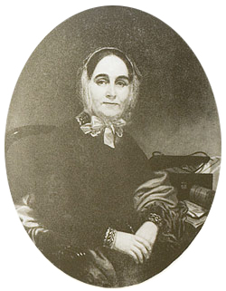 Mary Mason, Board President of the Methodist Church Home for the Aged from 1851-1858